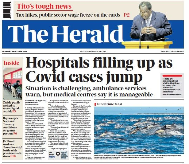 common_dolphins_29_oct_2020_herald_front_page.jpg