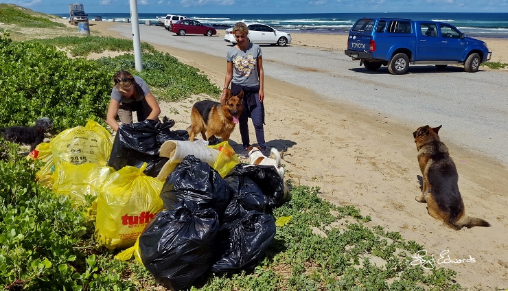 Litter Collected Between Maitlands and Gamtoos