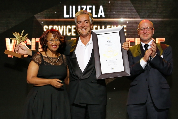Lloyd Edwards at Lilizela Awards
