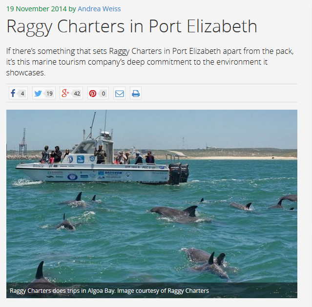 Raggy Charters Article