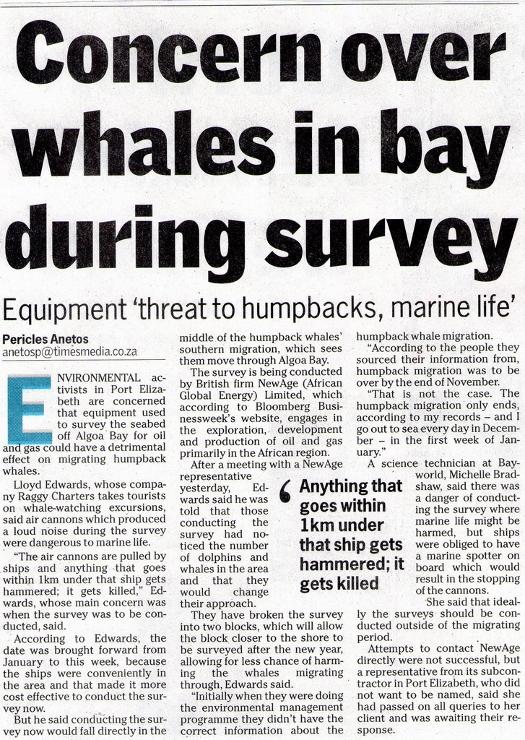 Seismic Survey Article