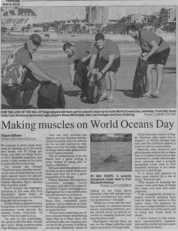 World Oceans Day Article